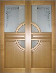 Экологичные межкомнатные Двери из массива сосны - foto 0