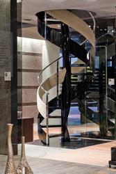 Элитные лестницы маршевые и винтовые от итальянской фабрики ALFA SCAL