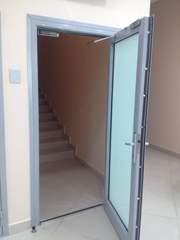 Огнестойкие алюминиевые двери со стеклом - foto 0