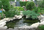 Искусственные водоемы,  пруды,  фонтаны,  ландшафтный дизайн  Казань - foto 1