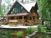 Деревянные дома из северного леса - foto 0