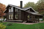 Деревянные дома из северного леса - foto 1